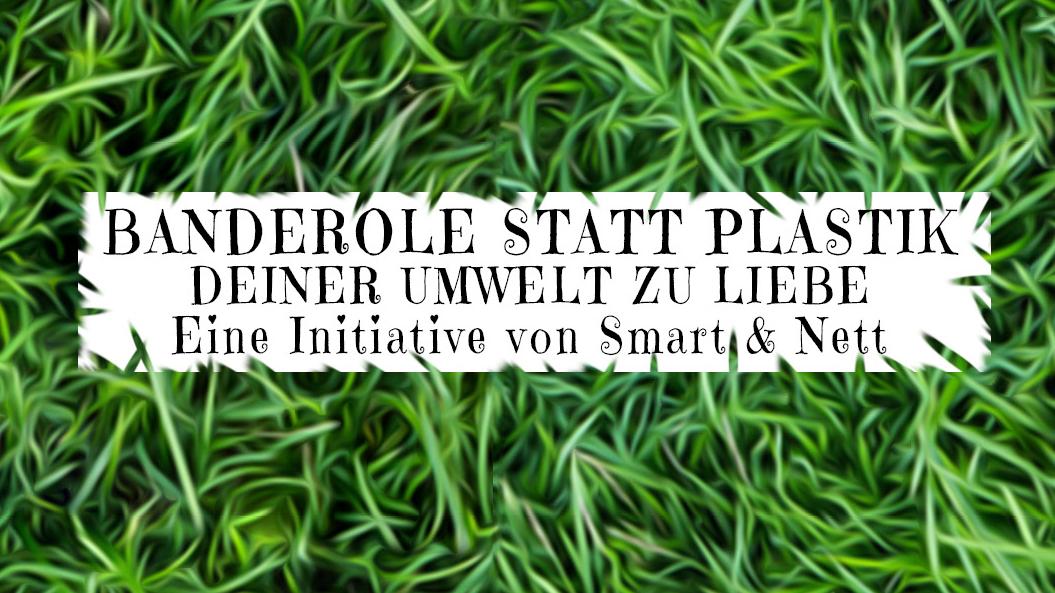 Banderole statt Plastik | Smart & Nett Verlag